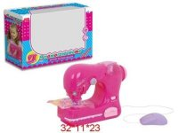 Швейная машинка на батарейках, свет 32х11х23 см, Solmar Pte Ltd