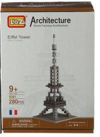 """Конструктор """"эйфелева башня"""", 280 деталей, LOZ"""