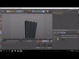 Создание штор в Cinema4D за 2 минуты + Экспорт в другие 3D-редакторы