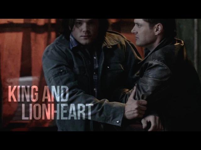 Sam Dean King and Lionheart