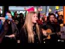 Avril Lavigne - Wish You Were Here GMA 22/11/2011