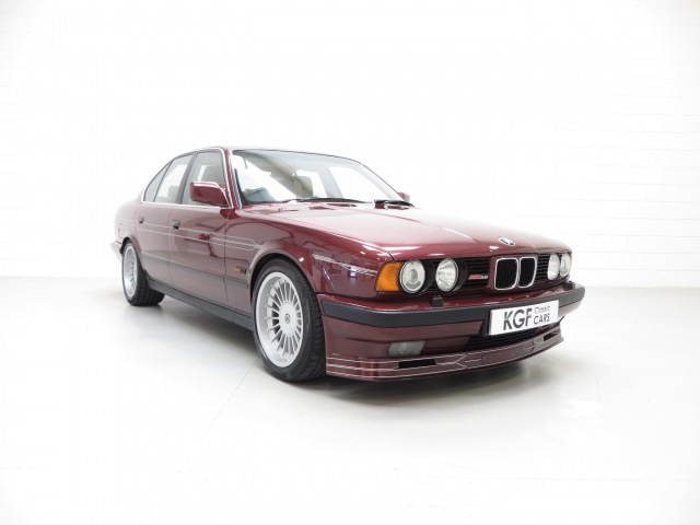 An Exclusive E34 BMW Alpina B10 3.5/1 with Only 59,313 Miles and Three Owners - SOLD!