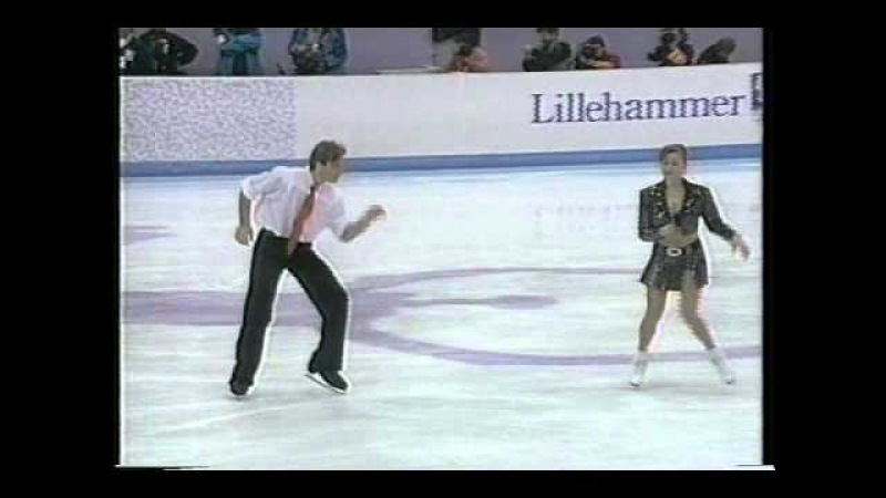 Grishuk Platov RUS 1994 Lillehammer Ice Dancing Free Dance
