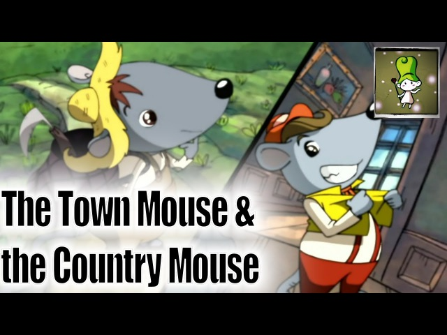 The Town Mouse and the Country Mouse - Bedtime Story (BedtimeStory.TV)