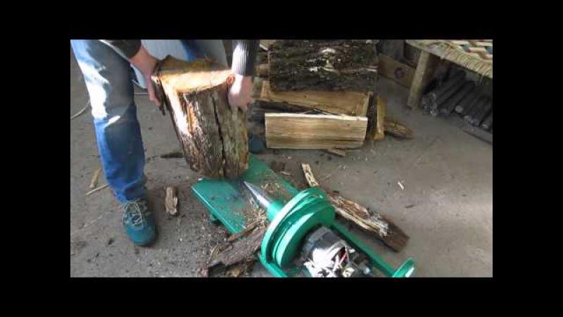 Как сделать дровокол своими руками из стиральной