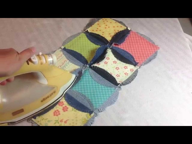 Quilting Tutorials - GO! Rag Circle 6 1/2 by Heather Banks