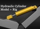 3D Tutorial 155 - Modeling and Rigging Hydraulic Cylinder - Part 1