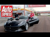 What's a hot lap with Kimi Raikkonen in a Ferrari F12 really like?