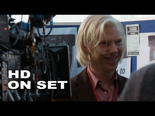 The Fifth Estate Behind the Scenes Part 1 of 2 Broll Benedict Cumberbatch Daniel Brühl
