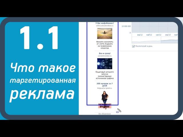 1.1. Что такое таргетированная реклама Вконтакте (Видео-курс Клиенты из Вконтакте)