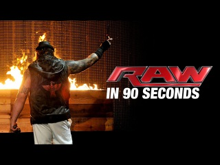 WWE Monday Night Raw 02.03.2015 — In 90 Seconds