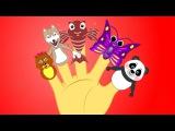 Russian Animal Finger Family Collection | TOP 15 | Коллекция пальчиков - животных | Панды | Мишки