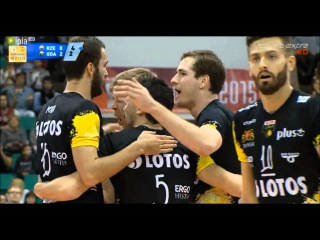 The Excellent performances of Mateusz Mika & Murphy Troy in Super Pucharu 2015 (Lotos Trefl Gdańsk)