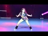 Elena - 1st Place Hip Hop Solo Kids  Dance Fest Novi Sad 2014  AQUA