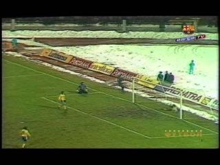 Динамо (Киев) - Барселона (Испания) 2-3. 1/4 финала КК-1990/91(обзор).