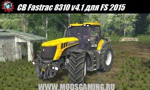 Farming Simulator 2015 download mod tractor CB Fastrac 8310 v4.1