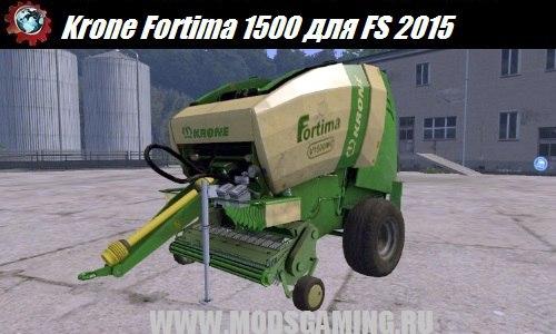 Farming Simulator 2015 download mod tyukopressa Krone Fortima 1500