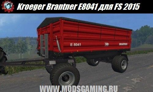 Farming Simulator 2015 trailer download mod Kroeger Brantner E8041