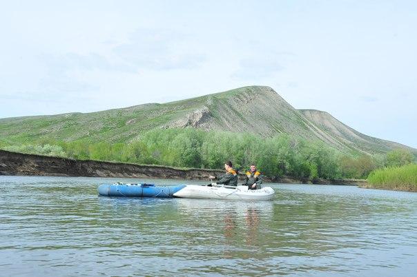 гора Верблюжка вид с р.Урал