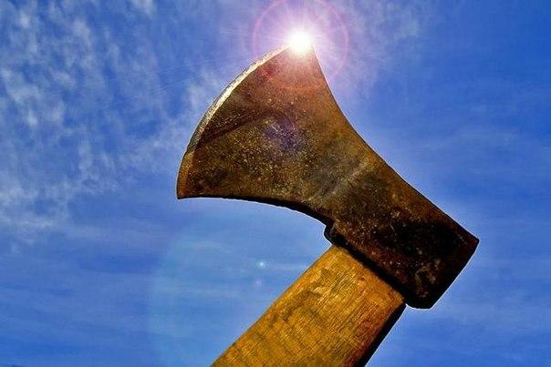 Как колоть дрова топором