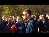 Видео с реп батла в Рубежном 17.10.2015