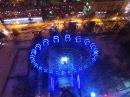 Вечерний полет на квадрокоптере над городом Пермь