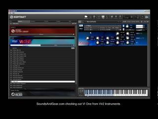 Vir2 Instruments VI One workstation instrument review - SoundsAndGear