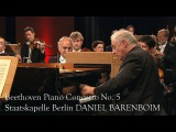 Daniel Barenboim Beethoven Piano Concerto No. 5 in E flat major Op. 73