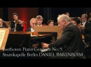 Daniel Barenboim: Beethoven Piano Concerto No. 5 in E flat major Op. 73