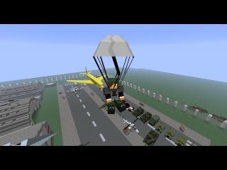 Военная техника и оружие (Flan's mod) - Обзор модов для майнкрафт 1.6.4
