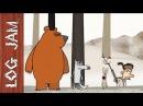 KJFG No 5 funny cartoons Log Jam series