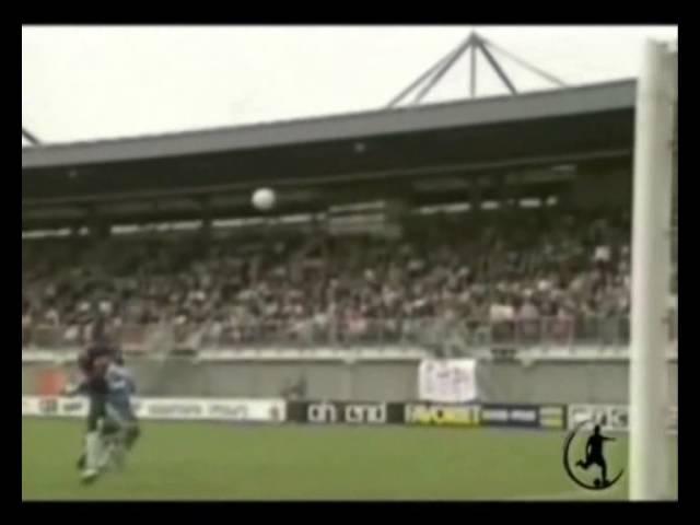 Romário - gols por cobertura