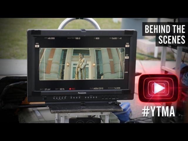 Ed Sheeran Emil Nava - [Exclusive Behind the Scenes - YTMAs]