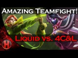 Amazing Teamfight! Team Liquid vs. 4C&L Dota 2