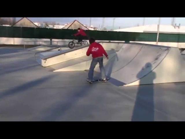 Street surfing tricks ray wave board 2015