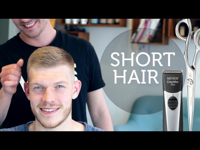 Men's short Hair Inspiration ★ Easy to Maintain Hairstyle for Men ★ Slikhaar TV