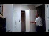 Modern secret hidden safe room