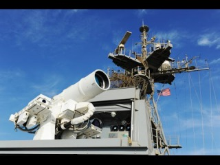 EXCLUSIVE VIDEO: US Navy Unveils $40 Million Laser Weapon System In Persian Gulf
