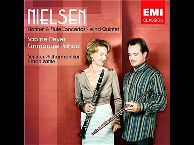 Nielsen~Flute concerto, 1st movement(E.Pahud, Rattle, Berliner Philharmoniker)
