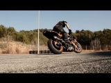 Restricted Area - Drifting Motorcycles Crossing - Switch Riders Gymkhana