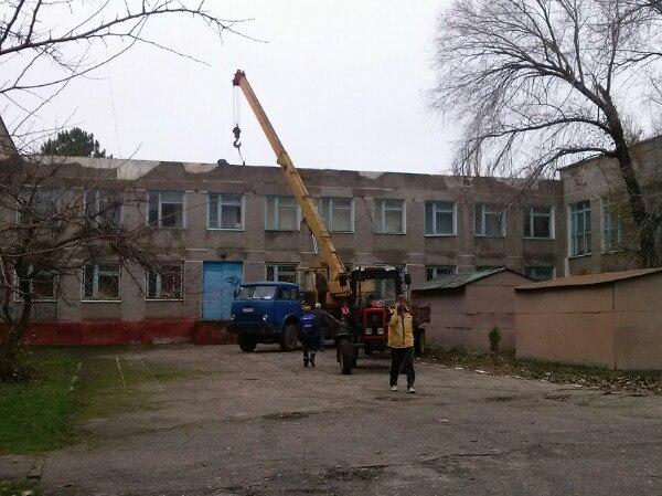 Во 2 школе отремонтировали крышу