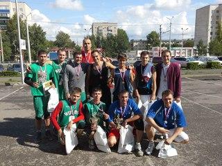 Стритбол 30.08.14 г.Альметьевск  II Открытый турнир по стритболу