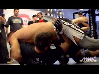 Bellator 138: Лучшие моменты с тренировки Кена Шемрока