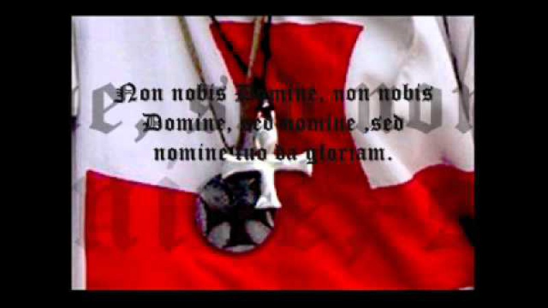 Chant templier non nobis domine