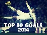 Криштиану Роналду - Лучшие 10 голов за 2014 год / Топ 10 голов