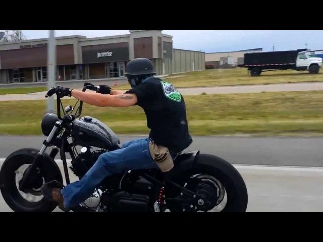 Vstar 1100 Bobber Ride HD
