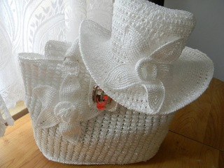 Вязаные сумки из пакетов. Сrochet Handbags of  Plastic Yarn