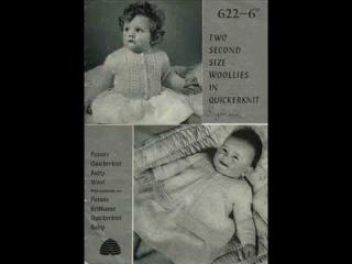 Вязание для новорожденных. Ретро. Knitting for newborns. Retro.