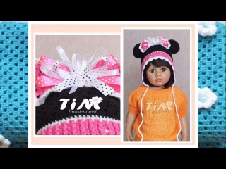 Детские вязаные шапочки от TIM. Children's crochet hats.
