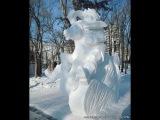 Снежная сказка. Хабаровск 2014. Snow figures